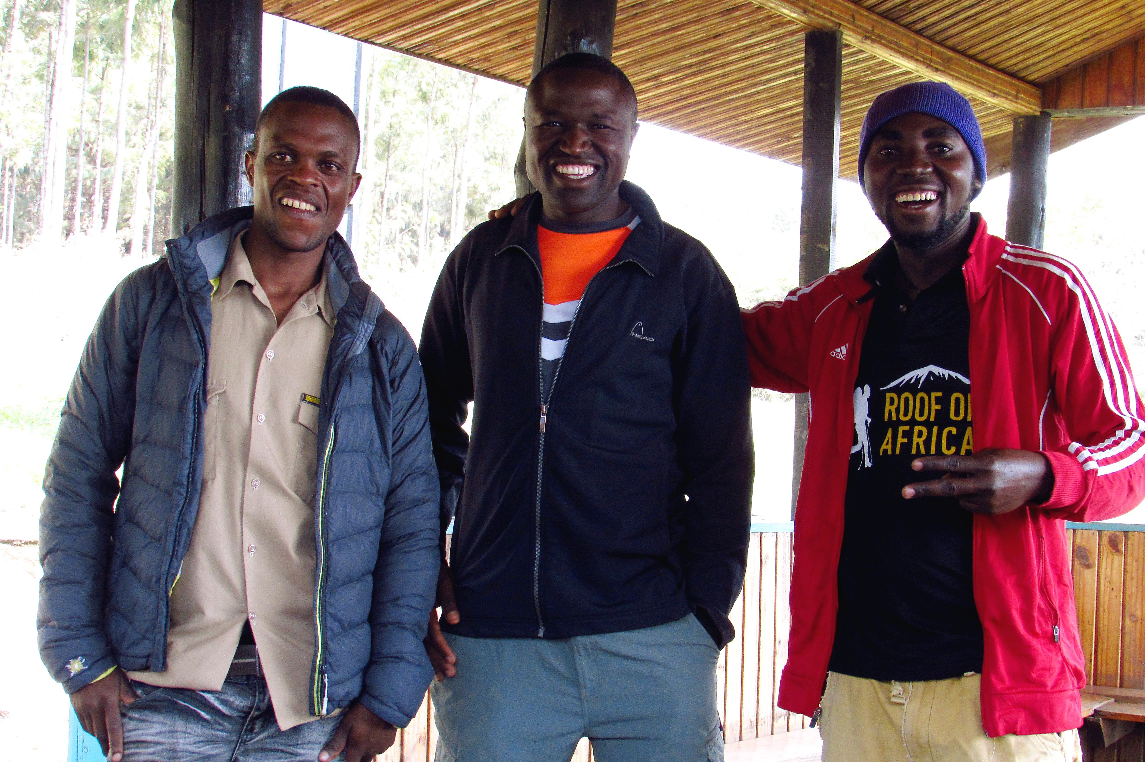 Guides am Kilimanjaro
