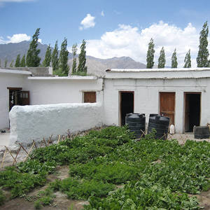 Tibeterschule-Ladakh-Gebaeude