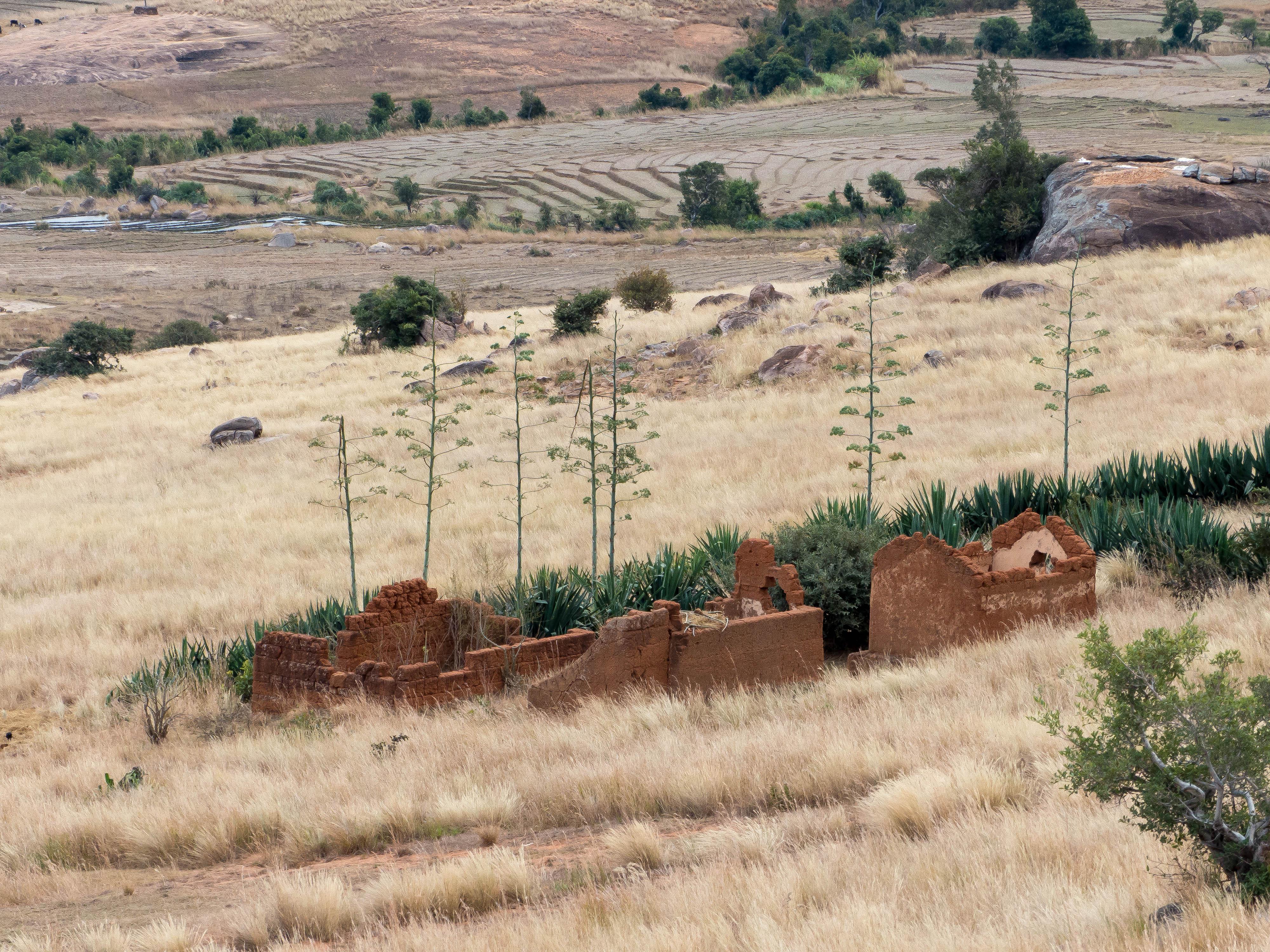 Madagaskar-Ruinen