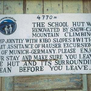 Kilimanjaro-School-Hut-information