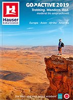Go Active 2019 Hauser Exkursionen Reisekatalog