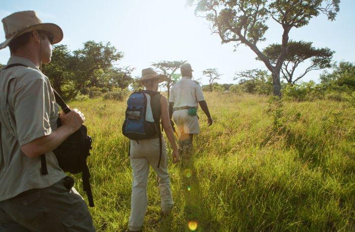 Safari Bushwalk Fußpirsch