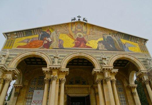 Israel-Jerusalem-Getsemane-Kirche