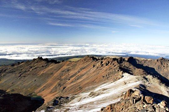 Mt Kenya Wolken