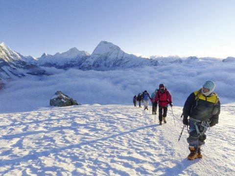 Aufstieg Mera Peak