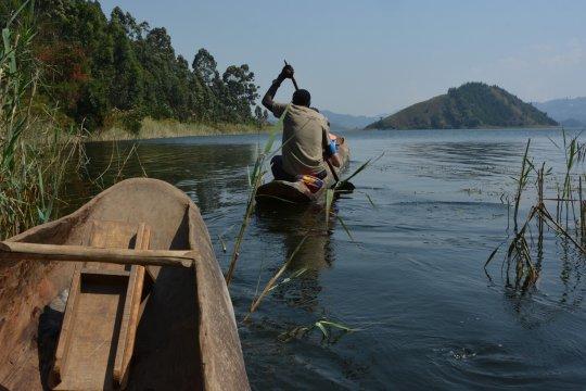 Bootsfahrt Uganda
