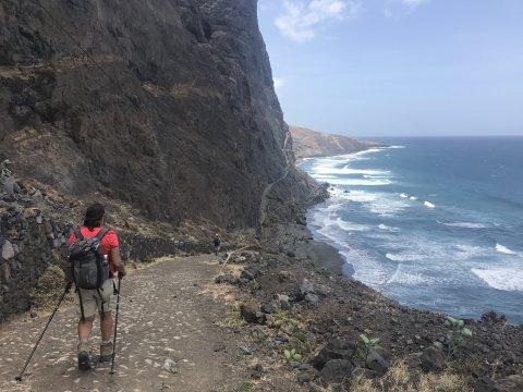 Santo Antao - Wanderung entlang der Küste