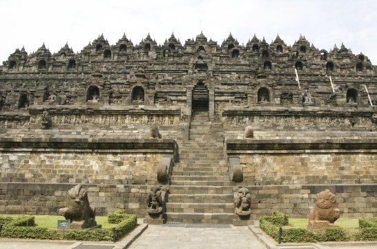 Java Borobudur buddhistische Tempelanlage