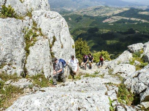 Hauser-Gruppe am Monte Albo