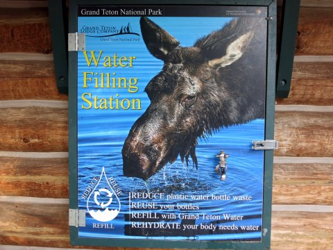USA-Grand-Teton-Wasserstation