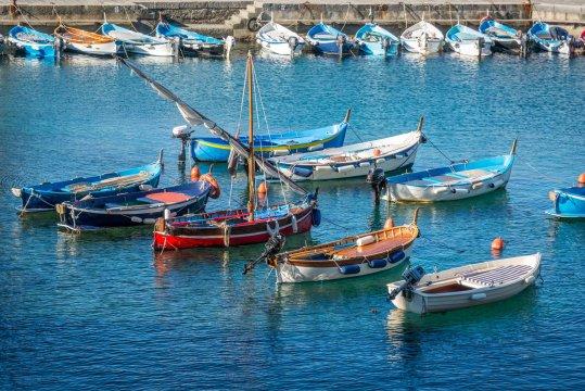 Fischerboote Cinque Terre