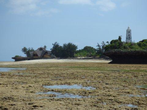 Wanderung bei Ebbe um Chumbe Island