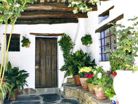 Hauseingang in der Alpujarra 2