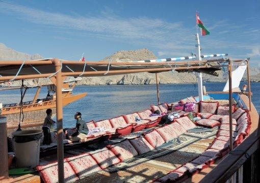 Mussandam, Dhaw-Fahrt, Boote
