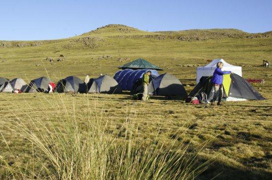 Geech Camp Semyen Gebirge