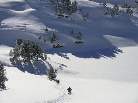 Wandern im Schnee 2