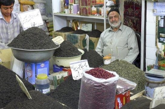 Tabriz Basar Teeverkauf