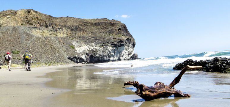 Strand Cala Grande Cabo de Gata