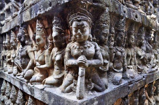 Kambodscha Angkor Skulpturenschmuck