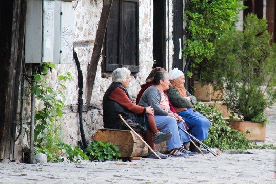 Dorfgespräche in Bulgarien