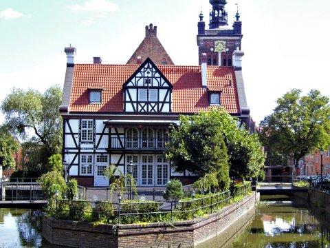 Typisches Haus in Danzig