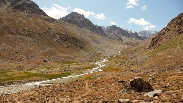 Andaravj-Tal im Pamir