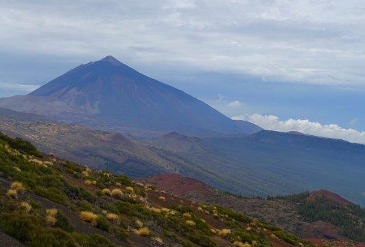 Blick auf den Teide im Teide-Nationalpark