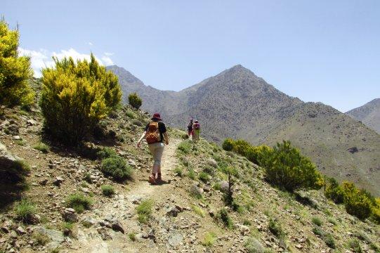 Wanderer Hoher Atlas_2