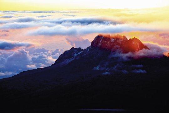 Sonnenaufgang am Mawenzi