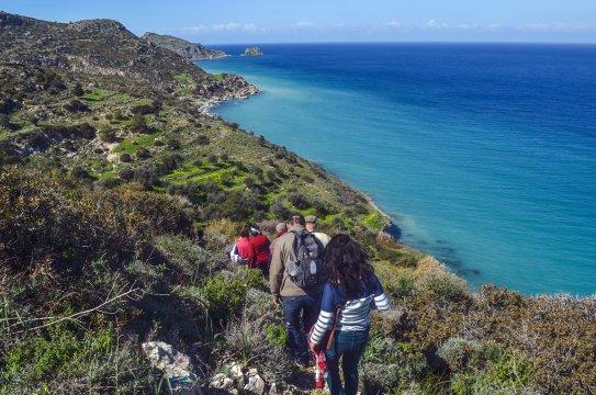 Wanderung in Kayalar