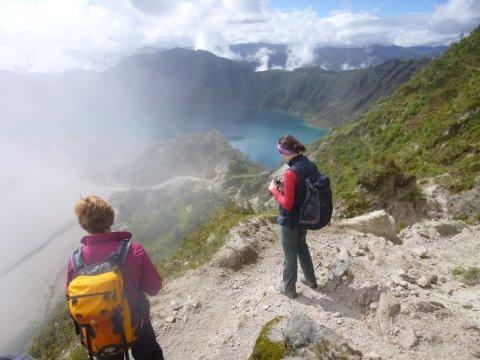 Wandern am Quilotoa