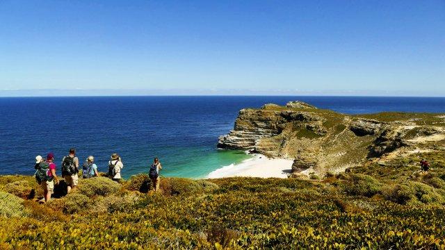 Blick auf Kap der guten Hoffnung