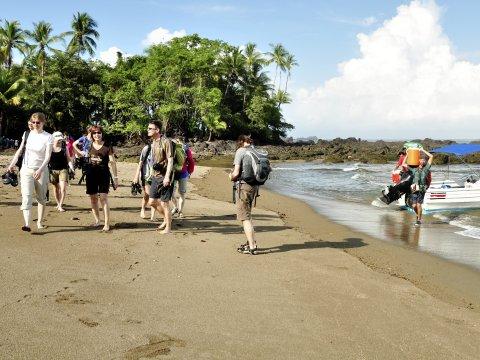 Bahia Drake Corcovado Strandwanderung