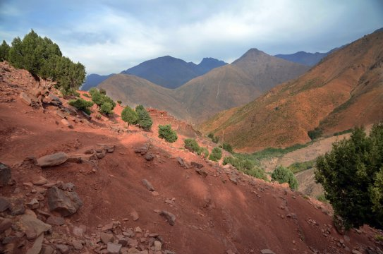 Marokko Hoher Atlas Tag 9