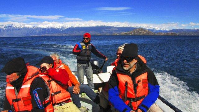 Bootsfahrt Lago General Carreras
