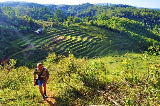 Zu Fuß unterwegs in Nordthailand