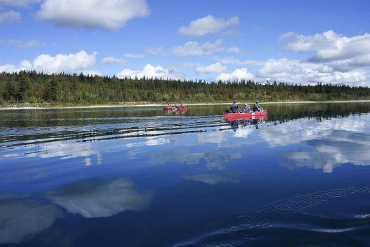 Kanada Kanufahrt Eagle Lake_2