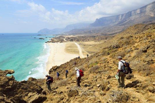 Wanderung zum Strand Fizaya_2