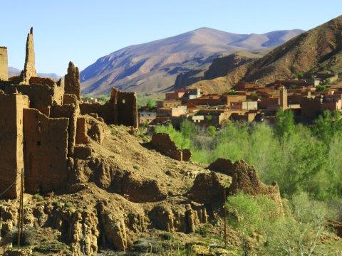 Kasbah und Dorf im Dades Tal_2