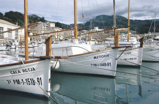 Fischerhafen in Port de Soller