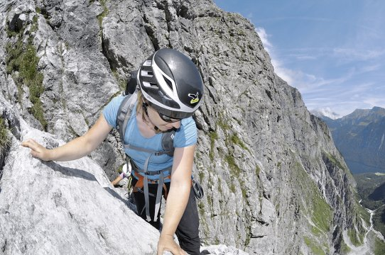 Klettersteig Deutschland : Deutschland alpinklettertraining vom hallenklettern zum