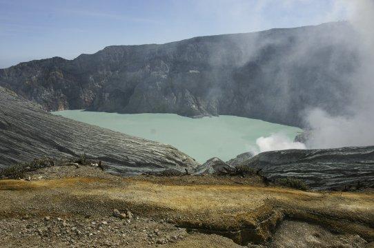 Java Ijen Vulkan Kratersee