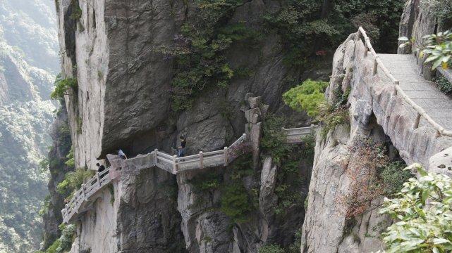 Huang Shan Bergpfade