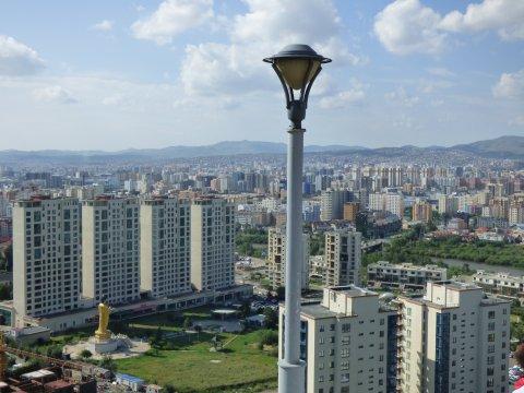 Aussicht über Ulaanbaatar