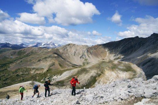Kanada Aufstieg Bourgeau Peak_2