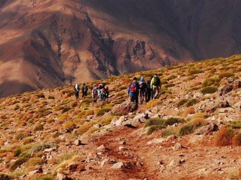 Unterwegs zu Marokkos Viertausendern