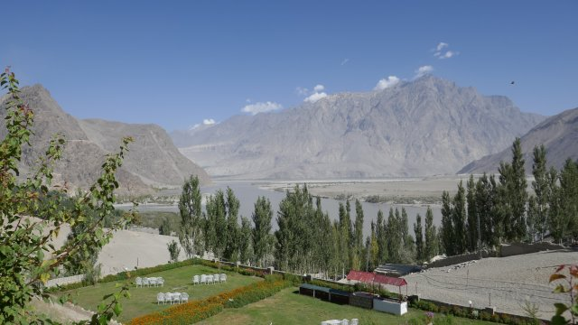 Landschaft in Skardu
