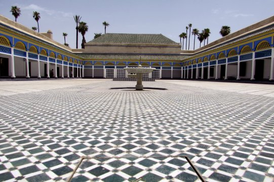 Bahia Palast in Marrakech