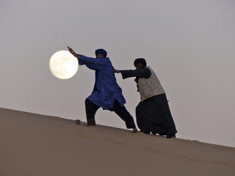 Tuareg - immer mit viel Humor