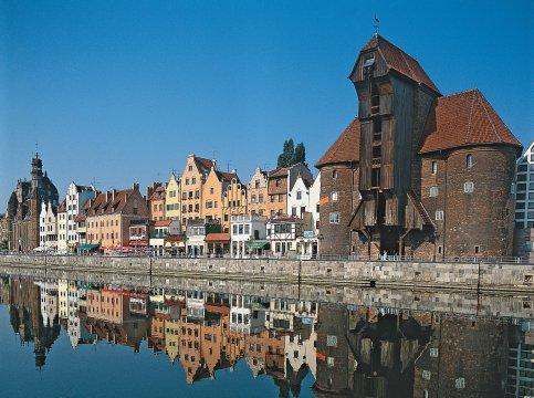 Blick auf die Altstadt von Danzig